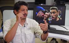 Croacia invita al fotógrafo de AFP atrapado bajo sus futbolistas