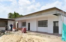 En un 85% avanza construcción de aulas en el colegio Bellavista, en Malambo