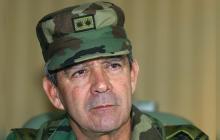 General (r) Mario Montoya se reunió con la presidente de la JEP, Patricia Linares