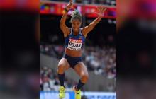 La atleta venezolana Yulimar Rojas.