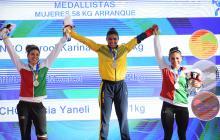 La antioqueña Karool Blanco compartió podio con las mexicanas Quisia Guicho y Mónica Domínguez.