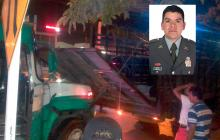 Carabinero fallece tras accidente entre camión de la Policía y un bus
