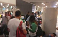 Delegaciones sufren inconvenientes por retraso en vuelo de Avianca