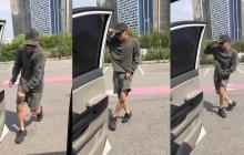 En video   Bailar 'In my feelings' junto a un carro en movimiento, el reto que puede terminar en multa