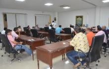 La puntualidad reinó en sesión de Concejo samario