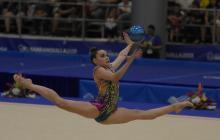 La gimnasia rítmica, un oro de espectáculo