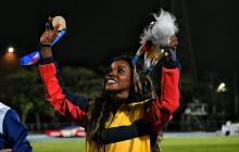La atleta antioqueña Caterine Ibargüen.