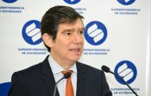 El superintendente de Sociedades, Francisco Reyes Villamizar.