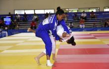 La vallecaucana Cindy Mera consiguió una medalla de plata en la categoría de -63 kilogramos de peso.