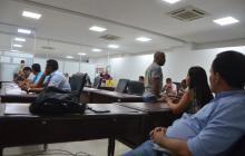 Sesión del Concejo de Santa Marta, el martes.