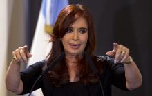 Cristina Fernández, actual senadora.
