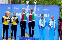 México arrasa en nado sincronizado de los Barranquilla 2018