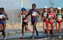 Angie Orjuela se cuelga el bronce en la maratón de los Barranquilla 2018
