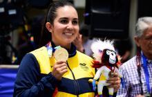 Colombia cierra los Juegos con un oro y una plata en el arco compuesto