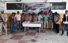 Operación 'oráculo' capturó a 15 personas por venta ilegal de chances en Riohacha