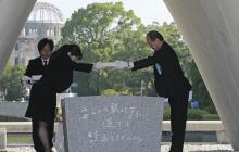 Japón recuerda el bombardeo atómico de Hiroshima, 73 años después