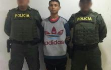 Dilan Guillermo Yacometo Quintana, capturado.