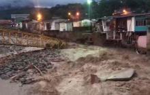 Decretan alerta roja en Mocoa por fuertes lluvias