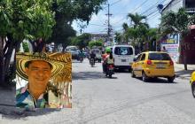 Camilo Andrés Ochoa fue asesinado en este sector de la avenida San Carlos.