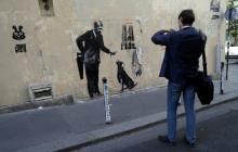 La exposición paga sobre Banksy que él no conocía