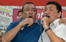 Beto Zabaleta y Poncho Zuleta cantaron juntos la canción 'Tardes de Verano'.