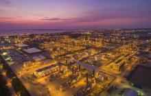 Aspecto de la refinería de Cartagena, Reficar, donde la Contraloría hizo hallazgos fiscales por $8,5 billones.
