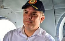 Duque llegó a Mocoa para evaluar emergencia invernal