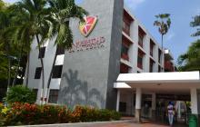 Sede de la Corporación Universitaria de la Costa.