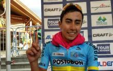 El ciclista colombiano Iván Ramiro Sosa, de 20 años.