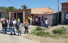Puerta a puerta se adelanta la campaña en Cartagena.
