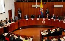 Magistrados no aceptan recusación de Uribe