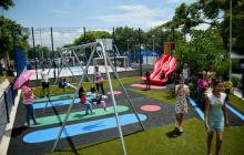 Entregan parque San Vicente con 4.500 metros cuadrados en Cevillar