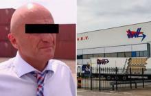 Paulus Adrian Van, empresario holandés detenido por narcotráfico.