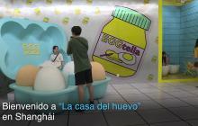En video | Insólito lugar en Shanghái para los amantes de los huevos y de los selfis