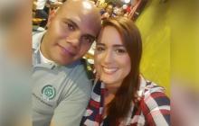 Juan Carlos Agámez y Ginna Ricardo Cantillo, presuntos estafadores.