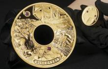 Australia acuña una moneda de oro de 1,8 millones de dólares
