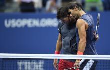 """""""Lo siento por él"""": Nadal a Thiem tras ganarle en el US Open"""