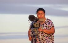 Leiqui Uriana fue la productora en La Guajira del filme 'Pájaros de verano'.