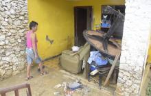 """""""En Puerto cada vez que llueve es  un caos"""": vecinos"""