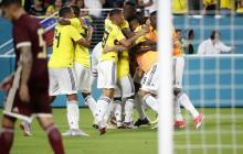 Colombia 2, Venezuela 1: Un ensayo victorioso y agradable