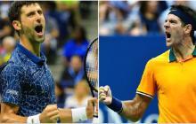 El mejor Del Potro contra el favorito Djokovic, más que una final del US Open