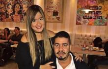 Daniella Ahumada y Mateo Cabrera.