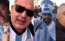 Castigan a hinchas argentinos por bromas sexistas en el Mundial de Rusia