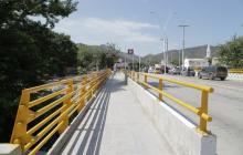 Puente sobre río Manzanares mejoró en un 90% movilidad en Santa Marta: DNP