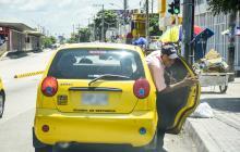 Taxistas y Policía chocan por controles a 'colectivos'