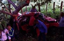 Tragedia vial en Cesar: dos muertos y tres heridos