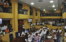 Mantienen la casa por cárcel a seis concejales de Cartagena