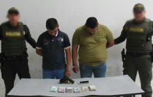Capturan a hombres que intentaban huir en bus tras robar banco en Alto Prado