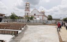 Ampliación de Plaza de Santo Tomás avanza en un 50%