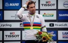 El holandés Tom Dumoulin, vigente campeón del mundo.